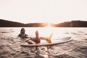 wakesurf planche board skim surf bateau eau