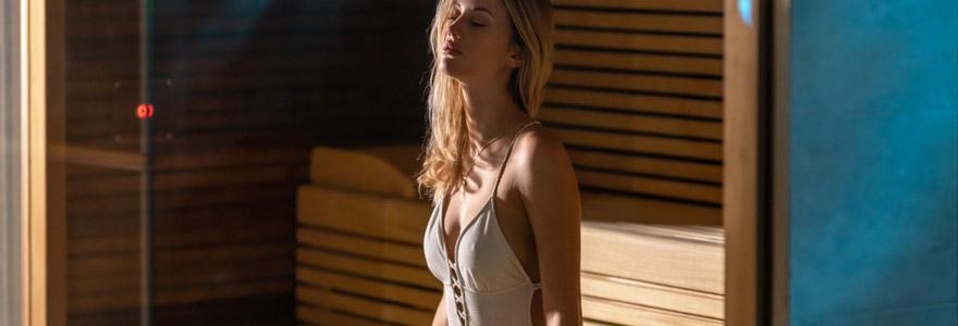 Sauna et récupération après une séance de fitness